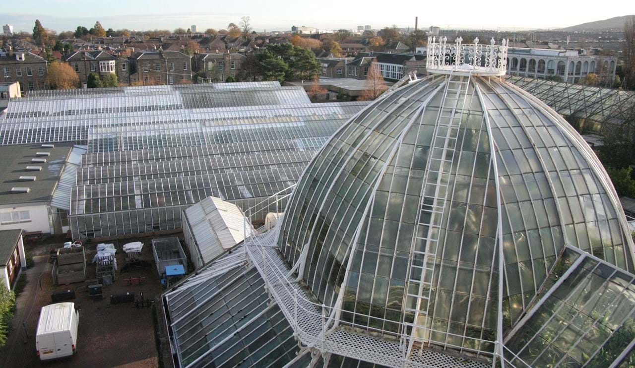 Tropical Palm House and Research Houses