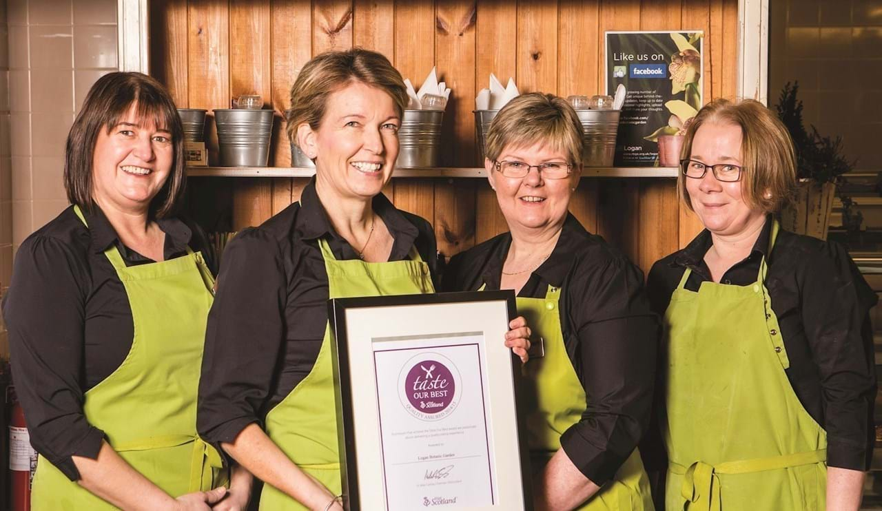 Potting Shed Bistro - Our Wigtownshire awards