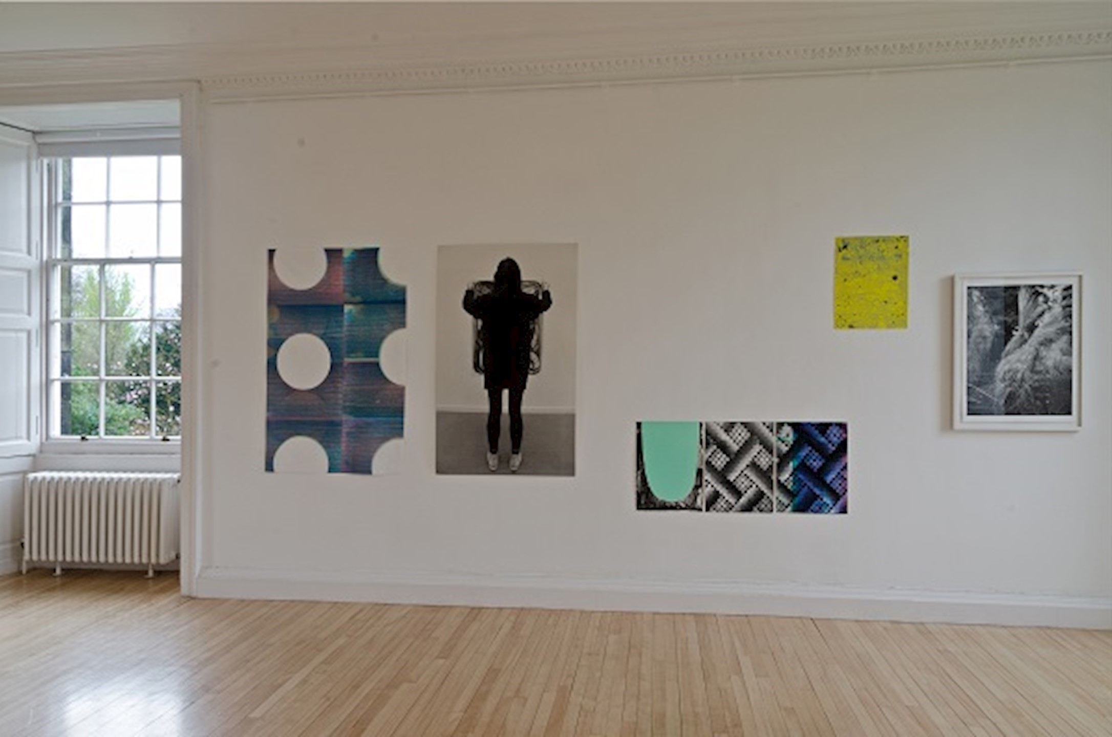 Ciara Phillips installation view, photograph by Michael Wolchover. Courtesy Royal Botanic Garden Edinburgh.