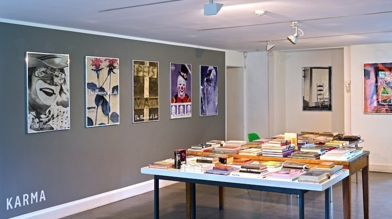 KARMA Books, Lower Ground Floor Gallery. Photograph by Michael Wolchover. Courtesy of KARMA.
