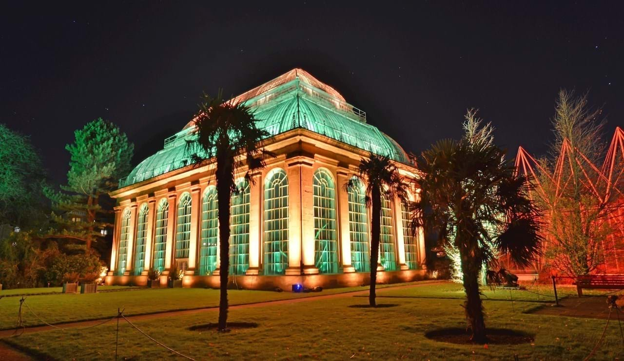 Iluminated Palm House