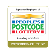 Supported by players of People's Postcode Lottery Awarding funds from Postcode Earth Trust